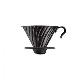 VDM-02-MB HARIO - V60 en métal noir mat - 1/4 tasses baolab cafe de specialite boutique